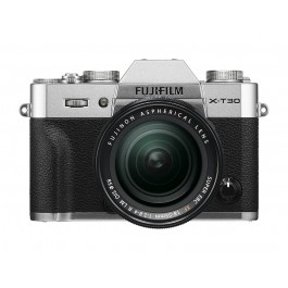 FUJIFILM X-T30 KIT 18-55mm Silver