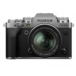 FUJIFILM X-T4 KIT 18-55mm Silver