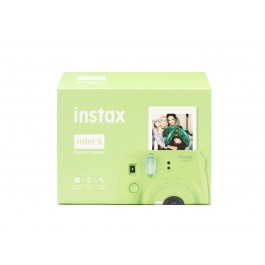 Kit Instax Mini 9 Lime Green + Pellicola
