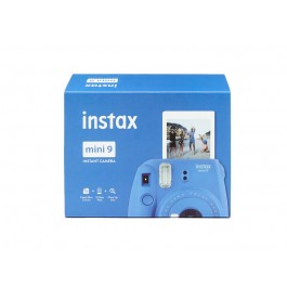Kit Instax mini 9 Cobalt blue + Pellicola