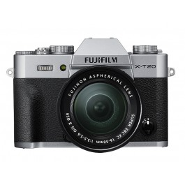 FUJIFILM X-T20 KIT 16-50mm Silver